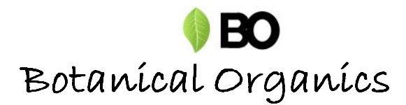 Botanical organics product