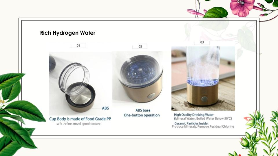 Rich Hydrogen Water user guide